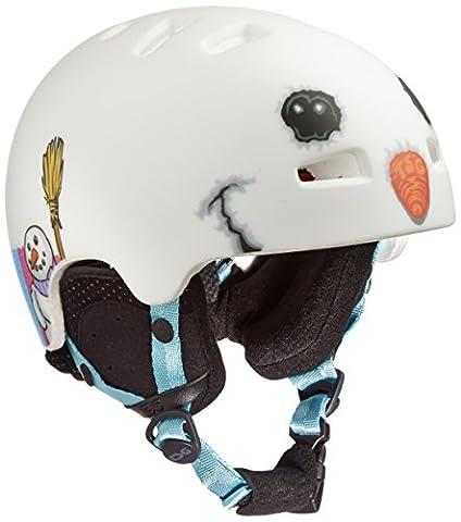 TSG Kinder Helm Arctic Nipper Mini Graphic Design, Snowman, XXS/XS,