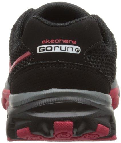 Skechers Go Run Ride Supreme, Chaussures de running garçon Noir (Bkrd)