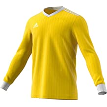 Adidas CZ5459 Camiseta Mangas Largas, Hombre, Amarillo (Yellow/White), XL