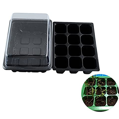 dealglad® New 212trous en plastique légumes plantes fleurs graines Grow