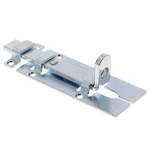 BURG-WÄCHTER Sicherheits-Vorrichtung für Vorhängeschloss, Für flächenbündige Türen, Schloss-Riegel SR 120 SB (Schlösser Und Riegel)