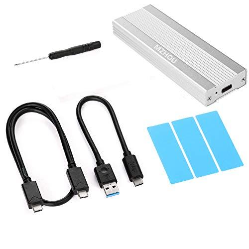 MZHOU Disco Duro Externa USB 3.1 SSD NVMe PCIe M.2