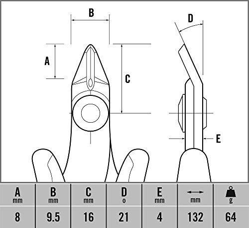 CK-T3888-Pince-coupante-diagonale
