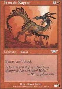 Magic: the the the Gathering - Frenetic Raptor - Legions - Foil by Magic: the Gathering 1e550c