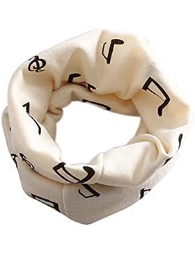 Rund-Schal mit Notenmix für Kinder - Schönes Geschenk für Musiker