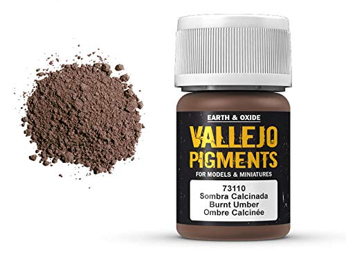 Vallejo Pigments 73110 Burnt Umber (35ml) -