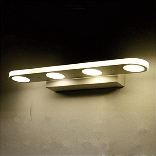 Mabor Badezimmerleuchten Vanity Licht, 12W Spiegellampen Anti-Fog & Wasserdicht Moderne Wandleuchte für Badezimmer, Schlafzimmer, Kommode, Wandmalerei , usw. (38CM, warmes Weiß)