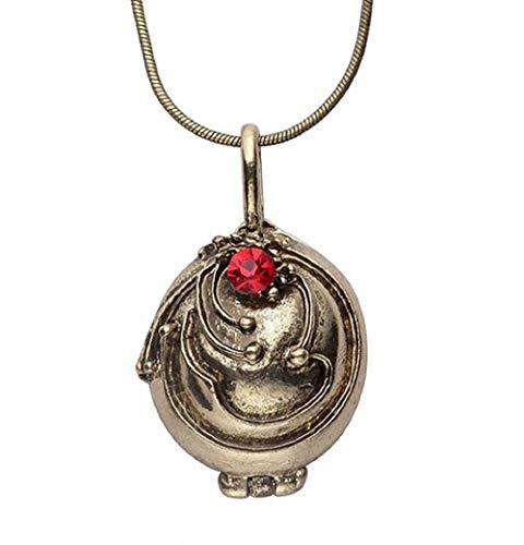 Inception Pro Infinite Halskette mit zu öffnendem Anhänger von Elena Gilbert - Tagebuch eines Vampirs - Bronzefarbe