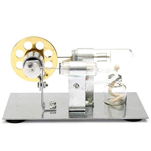 Mini Stirlingmotor Heißluftmotor Hot air Dampfmaschinen, Physics Experiment Electricity Montagesatz für die Ausbildung, Kinder Spielzeug Geschenke