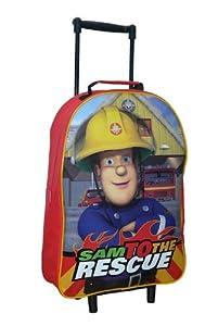 Trade Mark Collections Fireman Sam Wheeled Bag by Trade Mark Collections