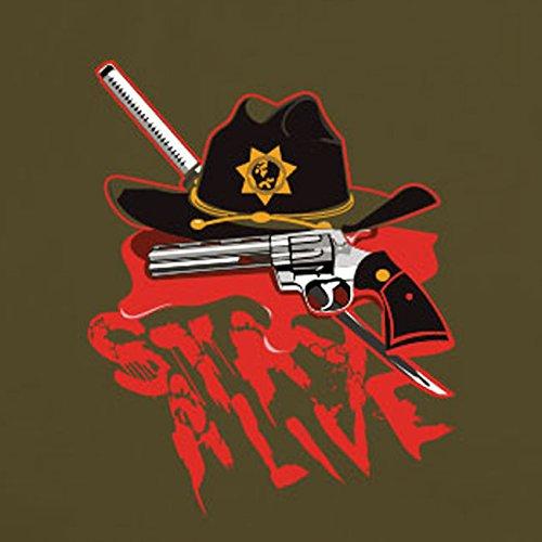 Still Alive - Stofftasche / Beutel Blau
