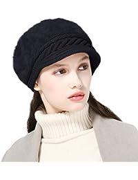 DORRISO Moda Donna Basco Berretto Autunno Inverno Caldo Cappelli Francese  Cappello Viaggio Vacanza Cappelli Lana 2ae7ee40a40a