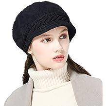 DORRISO Moda Donna Basco Berretto Autunno Inverno Caldo Cappelli Francese  Cappello Viaggio Vacanza Cappelli Lana 2367a5db00a7