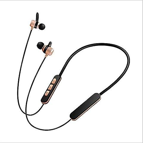 ¨¦couteurs intra-auriculaires Bluetooth ¨¦couteurs intra-auriculaires Microphones int¨¦gr¨¦s magn¨¦tiques s¨¦curis¨¦s pour