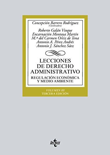 Lecciones de Derecho Administrativo (Derecho - Biblioteca Universitaria De Editorial Tecnos) por Concepción Barrero Rodríguez