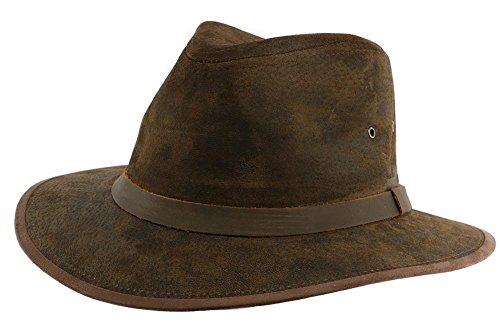 aussie-apparel-sombrero-cuero-marron-flinder-por-aussie-apparel-hombre-mujer-marron-x-large