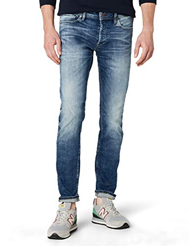 Jack & jones jjglenn original jj 887 noos, jeans uomo, blu (blue denim), w31/l30