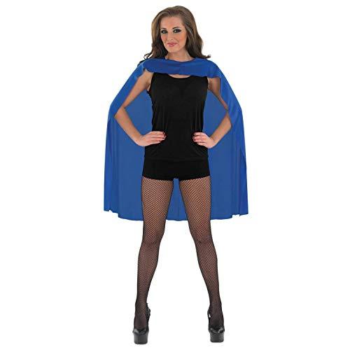 Kent Clark Frauen Kostüm Superman - Fun Shack Damen Costume Kostüm, Superhero Cape Blue, Einheitsgröße
