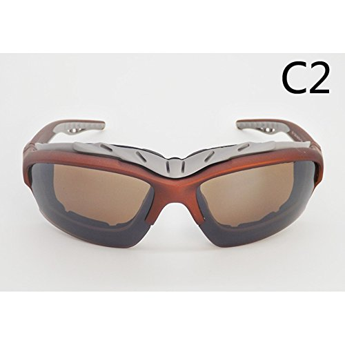 WISEUK Unisex Sport Sonnenbrille Goggle Fahrrad Outdoor Eyewear Radfahren Geschenke Gesundheit Fahrrad Zubehör (C2)
