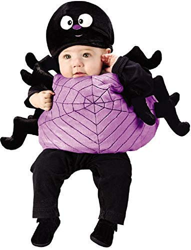 Fancy Me Mädchen Jungen Baby Kleinkind Halloween Spinne Tier Kostüm Kleid Outfit 12-24 Monate (Monate Jungen Halloween-kostüme 24 Alten)