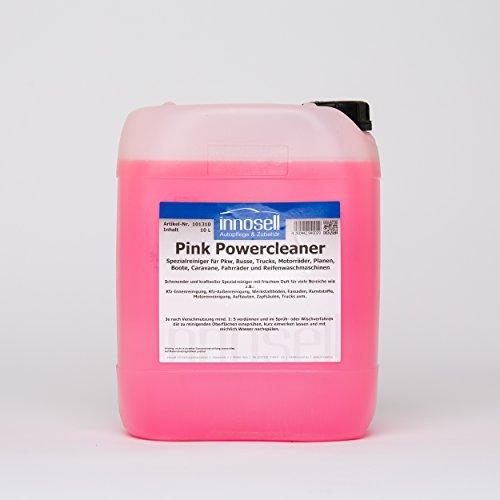 Innosell Pink Powercleaner Spezialreiniger Bodenreiniger Motorreiniger Zapfsäulenreiniger Industriereiniger - 10 L