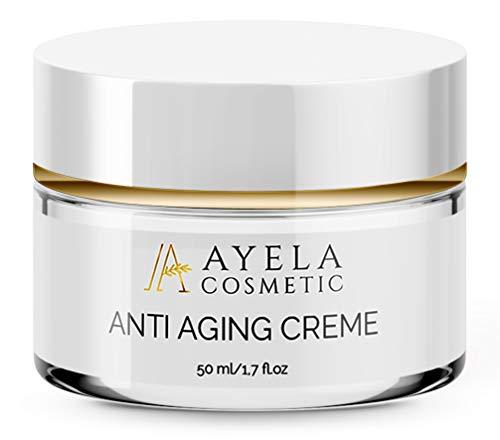 EINFÜRUNGSPREIS - Anti Aging Creme mit Hyaluronsäure und Coenzyme Q10   wirkt vorzeitiger Hautalterung entgegen   Ayela Cosmetic