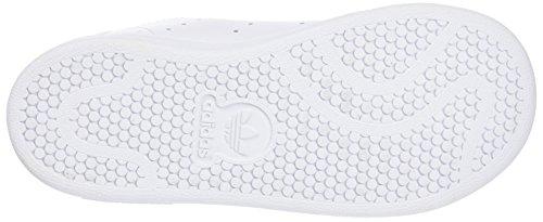adidas Stan Smith i, Sneaker Unisex-Bimbi Bianco (Ftwr White/Ftwr White/Green)