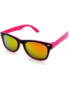 Vertx polarizzati leggero Strong trendy ragazzi e ragazze bambini retro Wayfarer occhiali da sole W/free custodia...