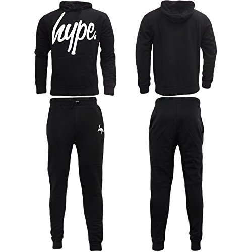 Just Hype -  Tuta da ginnastica  - Basic - Uomo Black Hood Medium