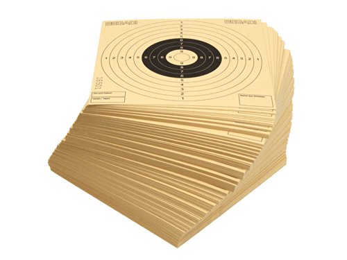 250 BEGADI Qualitäts- Zielscheiben 14x14cm, mit Zusatzfeldern (made in Germany)