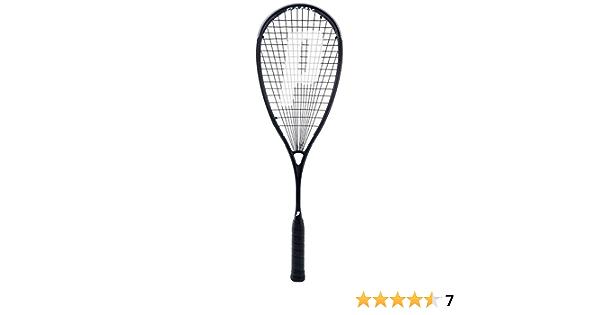 M D Trading UK Ltd Prince Pro Warrior TeXtreme X 600 Ramy Ashour Squash Racket plus Dunlop Pro Squash Balls