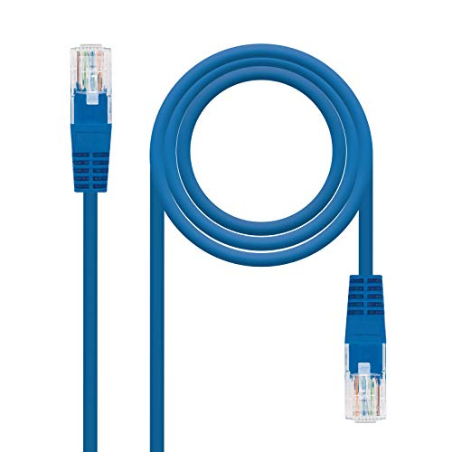 NanoCable 10.20.0400-BL - Cable Red Ethernet RJ45