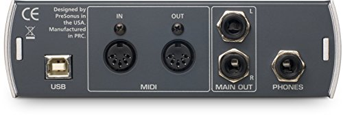 Presonus AudioBox Kompaktes 2x2 USB Recording-Interface -