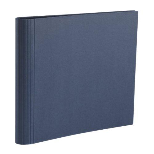Semikolon (353284) Fotomappe 23 Ring marine (blau) |Mit Efalinbezug | Basis für Foto-Album oder...