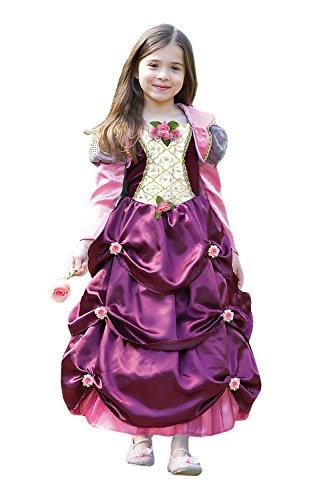 Herzogin Kate Damaszenerpflaume fancy dress up BNWT 3-11Jahre Tudor Barock Prinzessin Kostüm (6-8 (Fancy Dress Kostüme Up)