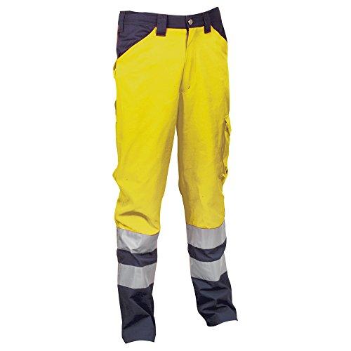 Cofra Encke V291pantaloni 245G/m² Encke V291lavoro pantaloni in segnale Colore, giallo, 40–00V29103–XXXXL.