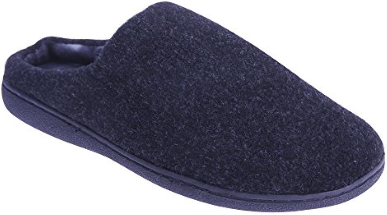 Zedzzz - Zapatillas de Estar por casa Modelo Tony Estilo Mule Hombre Caballero -