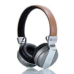 Laploma Hertz Wireless Bluetooth Headphone & Headsets With Mic Color- Silver