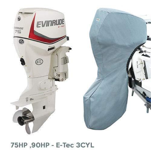 Oceansouth Außenbordmotor Vollständige Abdeckung zum Evinrude (75-90HP 20