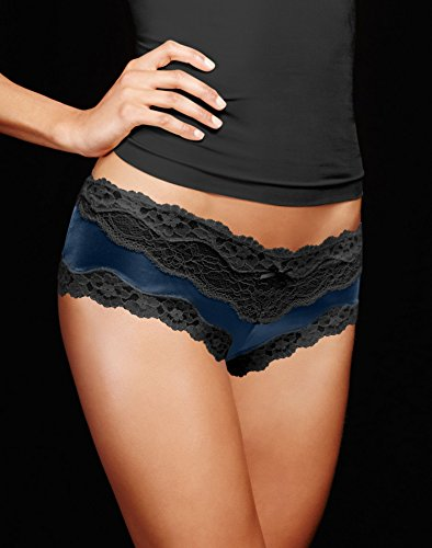 Maidenform Low Rise Panty (Maidenform Women's Cheeky Micro Hipster with Lace)