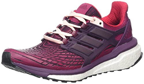 adidas Energy Boost W, Scarpe Running Donna Multicolore (Mystery Ruby F17/Red Night F17/Icey Pink F17)