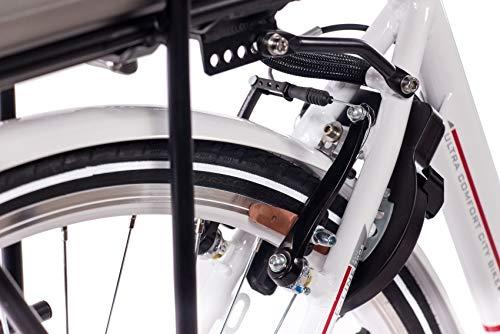 CHRISSON 28 Zoll E-Bike Trekking und City Bike für Herren kaufen  Bild 1*