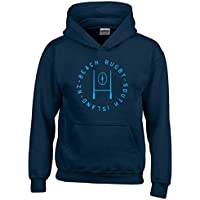 T-Shirtshock - Felpa hoodie bambino TRUG0079 beach rugby logo