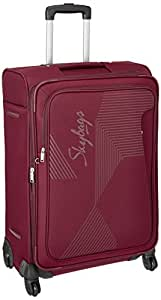 Skybags Footloose Hamilton Polyester 68 cms Red Softsided Suitcase (STFHM68EWRD)