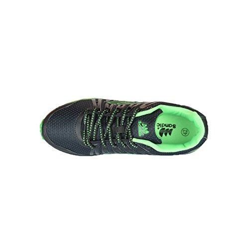 Sandic , Chaussures pour homme spécial foot en salle - Schwarz/Grün