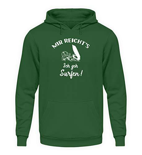 shirt-o-magic Surfer: Ich GEH Surfen! – Unisex Kapuzenpullover Hoodie