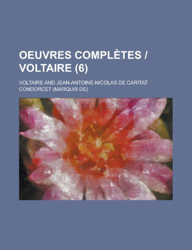Oeuvres Completes - Voltaire (6 )