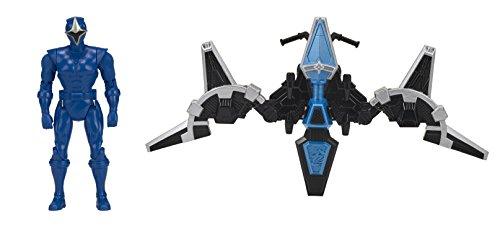 Power Rangers 43574Ninja Stahl Mega Morph Cycle mit Blauer Ranger