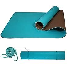 PROIRON Yoga Mat Colchoneta Yoga Antideslizante TPE Estera de Yoga Extra  Suave con Double Capas ( 57cf51c798c1