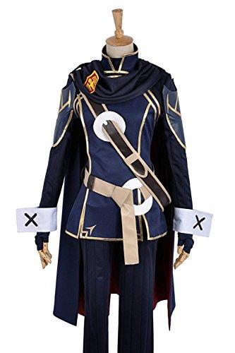 em Lucina battleframe Cosplay Kostüm Custom Made, Collegejacke, Blau (Benutzerdefinierte Halloween-kostüme Für Erwachsene)